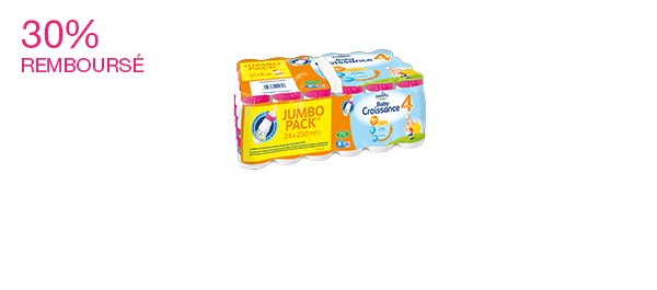 Candia Baby Croissance® 3 & 4