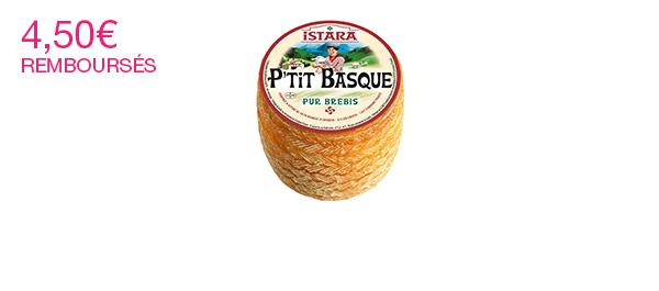 P'tit Basque d'Istara, tommette