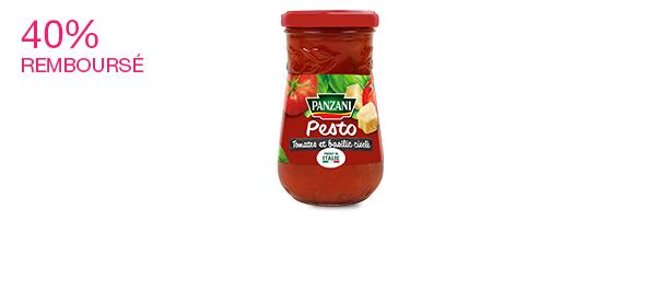 Pesto Tomates et Basilic ciselé