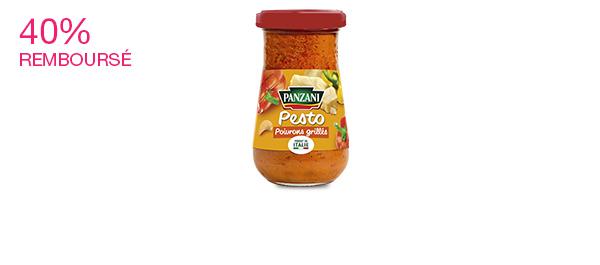 Pesto Poivrons grillés