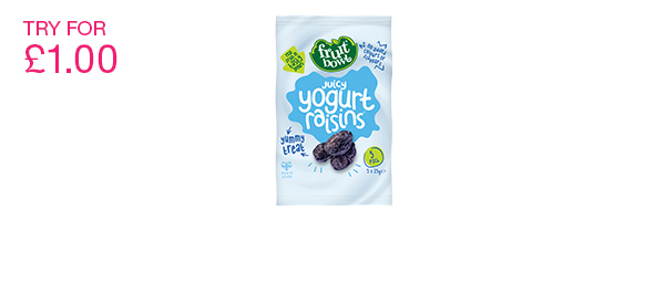 Juicy Yogurt Raisins