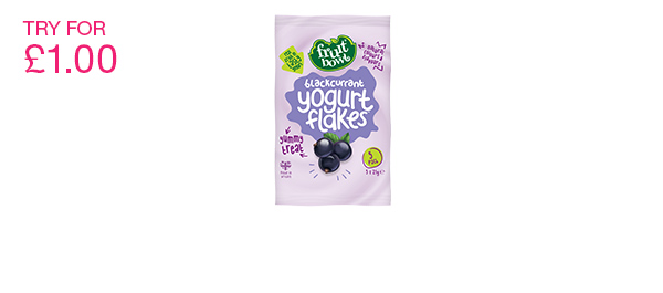 Blackcurrant Yogurt Flakes