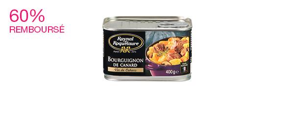 Bourguignon de canard