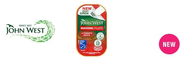 John West Easy Peel Mackerel Fillets