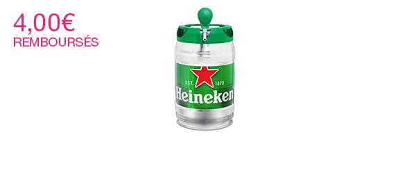 Fût Heineken 5L