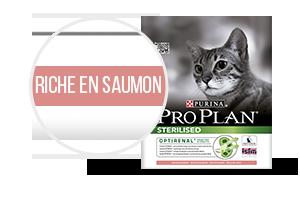 Pro Plan Sterilised riche en saumon