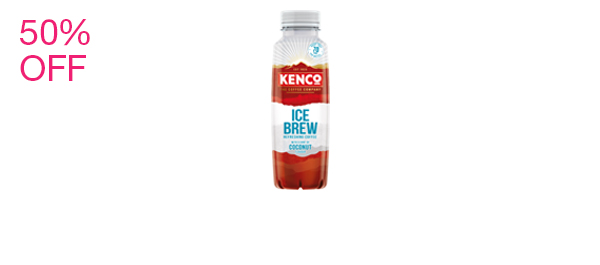 Kenco Ice Brew Coconut Coffee