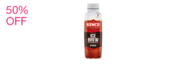 Kenco Ice Brew Strong Coffee