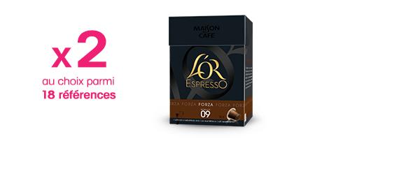 Offre 2 produits L'OR EspressO