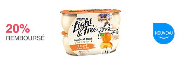 À valoir sur 1 Light & Free