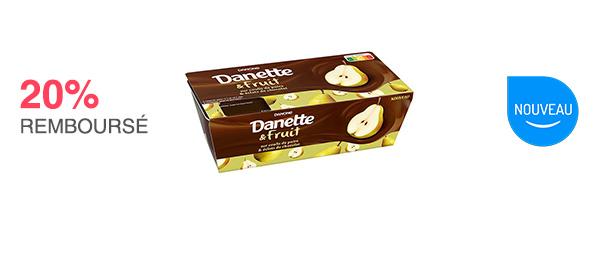 À valoir sur 1 Danette et Fruit