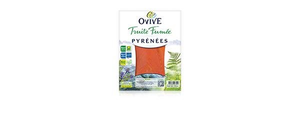Ovive Truite Fumée 10 références