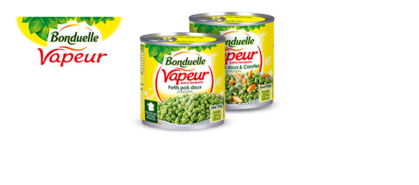 Légumes Bonduelle Vapeur
