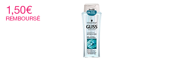 Gliss Detox & Care Shampooing