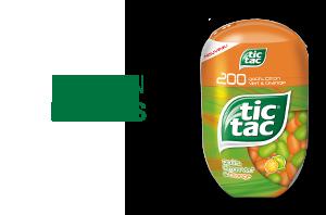 Tic Tac goûts Citron Vert & Orange