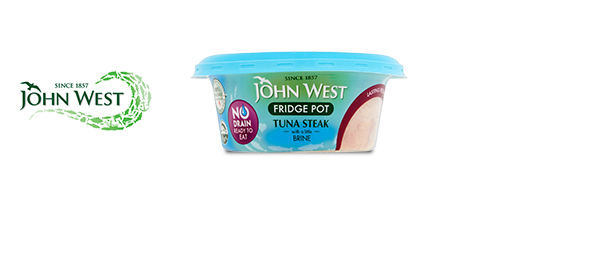 John West No Drain Fridge Pot Tuna