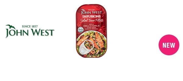 John West Infusions Salad Tuna Fillets