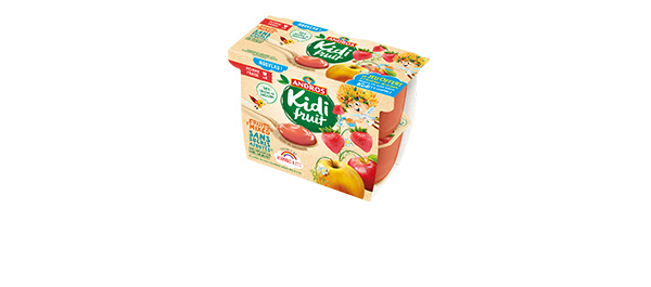 Kidifruit Pots x4