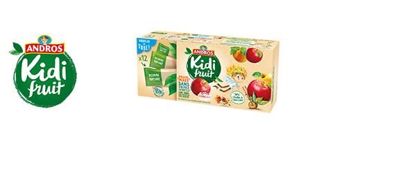Kidifruit, le fruit mixé qui a tout bon