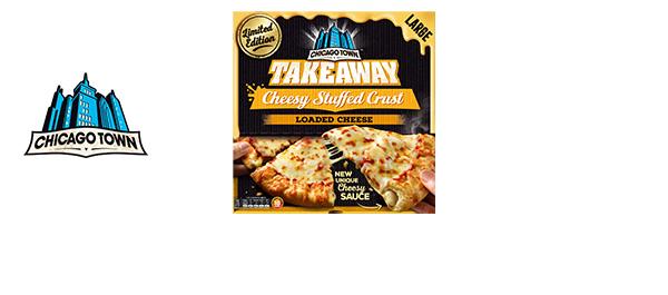 New Cheesy Stuffed Crust Loaded Cheese