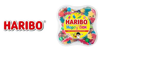 Les Boîtes de bonbons HARIBO®