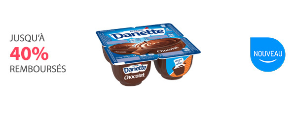 À valoir sur 1, 2 ou 3 Danette Crème Dessert