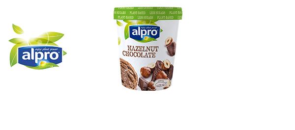 Alpro Hazelnut Chocolate Ice Cream