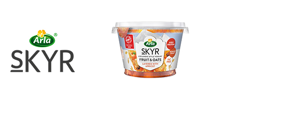 Arla Skyr Fruit & Oats Yogurt