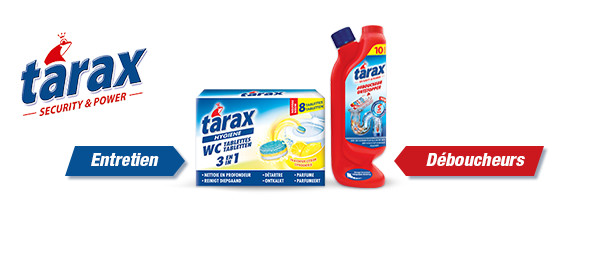 TARAX préserve vos sanitaires