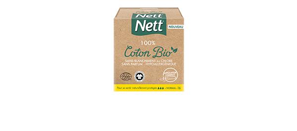 Nett 100% Coton Bio