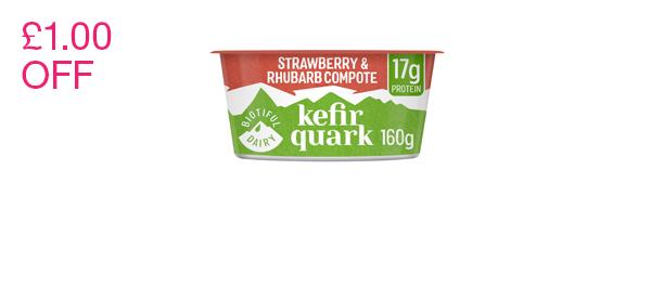 Biotiful Kefir Quark With Compote