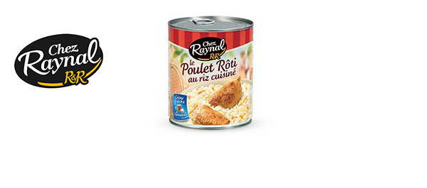 Le Poulet Rôti au riz Chez Raynal