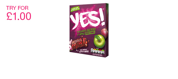 YES! Beetroot and Apple Fruit Bar