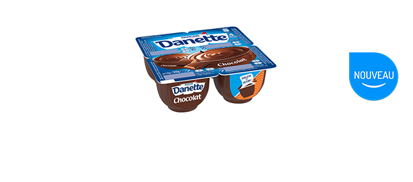 À valoir sur 2 Danette Crème Dessert x4