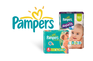 Pampers Active Fit et Baby Dry