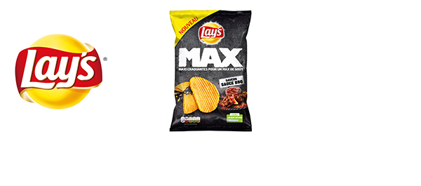 Lay's Max – les chips ondulées