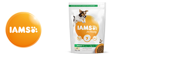 IAMS for Vitality Dog Food