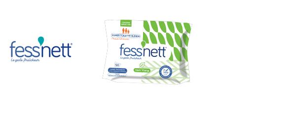 Fess'nett Papier Toilette Humide