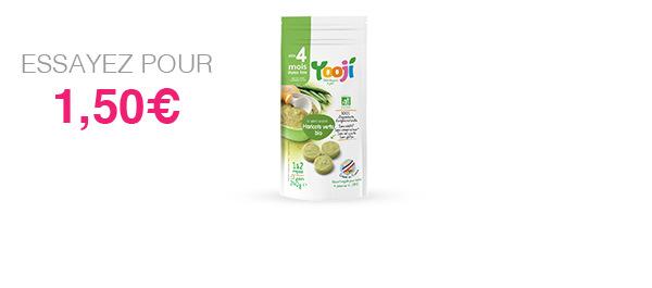 Purée de légumes lisse dès 4 mois