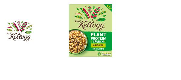 W.K Kellogg Plant Protein Crunch