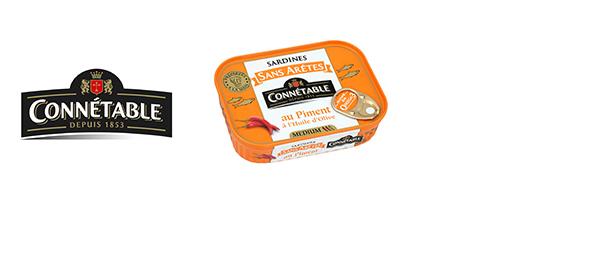 Sardines sans arêtes au Piment Connétable