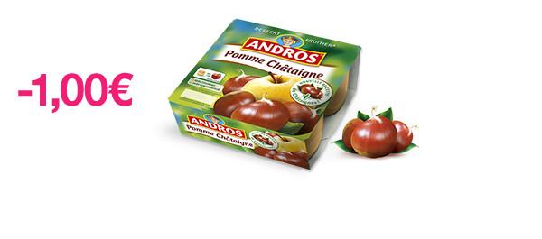Dessert Fruitier Pomme Châtaigne