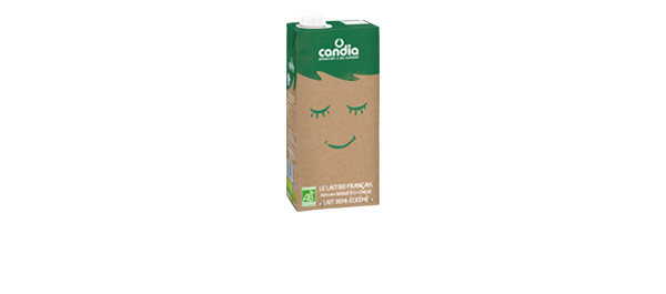 Brique éco-conçue – lait bio français