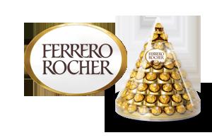 Ferrero Rocher Pyramide