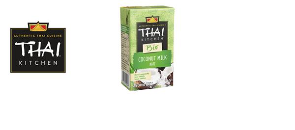 La gamme de laits de coco Thaï Kitchen
