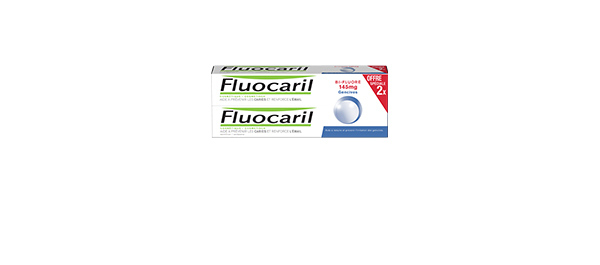 Lot de 2 Fluocaril Bi-Fluoré 145mg