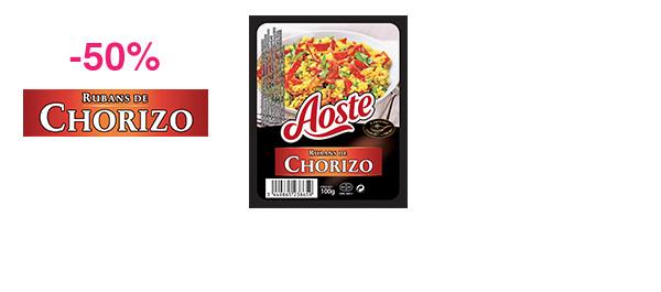Rubans de Chorizo 100g