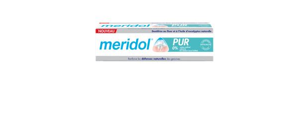 NOUVEAU Dentifrices meridol® PUR