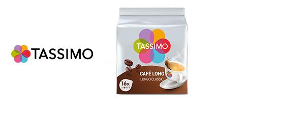 Gamme de cafés Tassimo