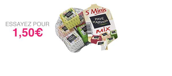 5 Minis Pavé d'Affinois Mix